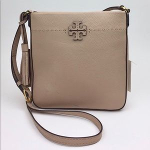 Tory Burch Bags - TORY BURCH McGraw Leather Crossbody Tote